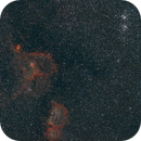 IC1805 and h&chi persei widefield,                                xb39