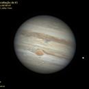 Jupiter, GRS, Io ocultation,                                Carlos Alberto Palhares - OBSERVATÓRIO ZÊNITE