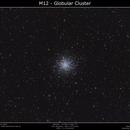 M12 - Globular Cluster,                                Brice Blanc