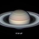 Saturn's rotation over 20 mins,                                Niall MacNeill