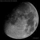 """Mosaico Lunar 2021 Newton 8""""+ Zwo Asi1600mm,                                Astrofotografia A.R.B."""