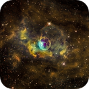 Bubble Nebula (NGC7635) NB in HST palette,                                Jose Carballada