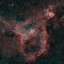 IC1805 Heart Nebula (HOO),                                VoidPointer