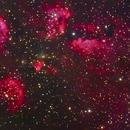 NGC 6334 - Cat's Paw Nebula,                                Ricardo L Pinto