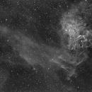 IC405 H-Alpha,                                Sergio Alessandrelli
