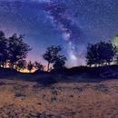 Milky Way over La Cuerda del Pozo,                                Astrofotógrafos