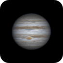 Rotation of Jupiter with GRS (21:03-23:45, 15 feb 2015),                                Star Hunter