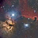 Horsehead and Flame Nebula (NGC 2023, NGC 2024),                                Steve Siedentop