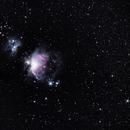 Nébuleuse d'Orion,                                Douche