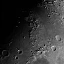 Moon 4 panal Mosaic ,                                Bert Scheuneman