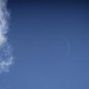 Daytime Crescent Moon,                                Steven Bellavia