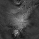 [Ha Starless] Cone Nebula + Christmas Tree Cluster + Snowflake Cluster + Fox Fur Nebula,                                Ysty