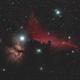 Horsehead etc IC434,                                PeterCPC