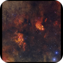 The Cat's Paw and Lobster Nebulae (NGC6334 and NGC 6357),                                Göran Nilsson