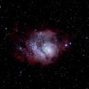 messier 8 (lagoon nebula),                                fabfar