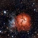 Trifid nebula,                                Ron Krassin