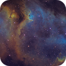 IC1848 The Soul Nebula SHO 12 Panel Mosaic,                                Christopher Gomez