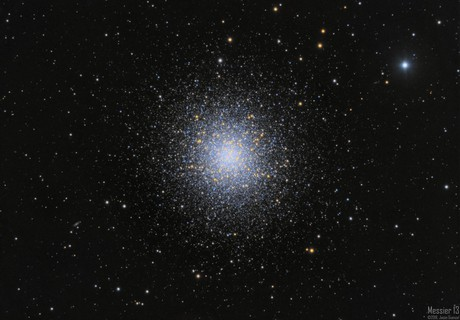 M13 - The Great Globular Cluster in Hercules,                    Jason Guenzel