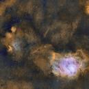 M8 - Lagoon Nebula and Friends,                                AstroJoeHSV