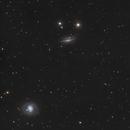 Galaxie M77 - Sadr Espagne,                                Julien Bourdette