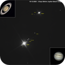Jupiter Saturn conjunction with 7 Moons,                                Bruce Rohrlach