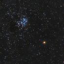 Mars meets Pleiades (M45) Version 2,                                AstroHannes68