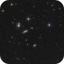 Hickson 44 - Galaxy Quartett in Leo,                    Bernhard Zimmermann