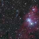 Cone Nebula LRGB,                                Dean Schwartzenberg