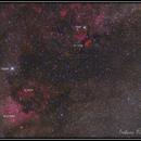 NGC7000 IC5070 IC1318,                                Emiliano Mazzoni