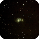 M51 with new data and using Nebulosity bad pixel mapping,                                Moleculejockey