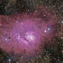 M8 - Lagoon Nebula,                                Jonathan W MacCollum