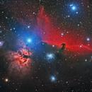 HorseHead & Flame nebula,                                Girish