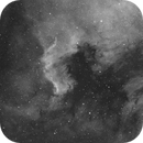 Cygnus Wall and Pelican Nebula,                                t-ara-fan