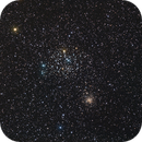 M 35 et NGC 2158,                                steaphan