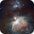 M42 and NGC1977,                                John Hosen