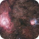 M 8 The Lagoon Nebula, M 20 The Trifid Nebula, Sag.,                                Vladimir Machek