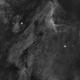 Pelican nebula (Ha),                                geeklee