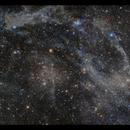 Predator-Prey Nebula in Camelopardalis - 3 panels,                                Göran Nilsson