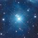 Alcyone in M45 LRGB,                                Christopher Gomez