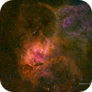 The Lion Nebula (Sh2-132) in HSOrgb,                                Jose Carballada