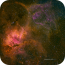 The Lion Nebula (Sh2-132) in HSOrgb,                                  Jose Carballada