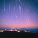 Star Trails Over Mauna Kea,                                Wei-Hao Wang