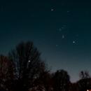Constellation Orion over City of Hamburg,                                DirkEberhardt