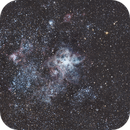 Tarantula Nebula - a short test set,                                chaosrand
