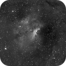 Sh2-135 in Ha (FSQ106 first light),                                Prath Pavaskar