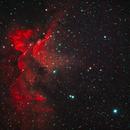 NGC 7380 Wizard Nebula,                                John Rathbun