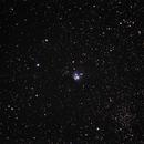 NGC 7129,                                neptun