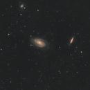 M81 and M82 with TS71SDQ,                                Nicolas MARTINO