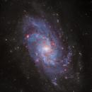 Triangulum Galaxy,, LHaRGB,                                KIJJA JEARWATTANAKANOK