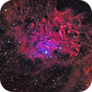 IC 405 - The Flaming Star,                                CrestwoodSky